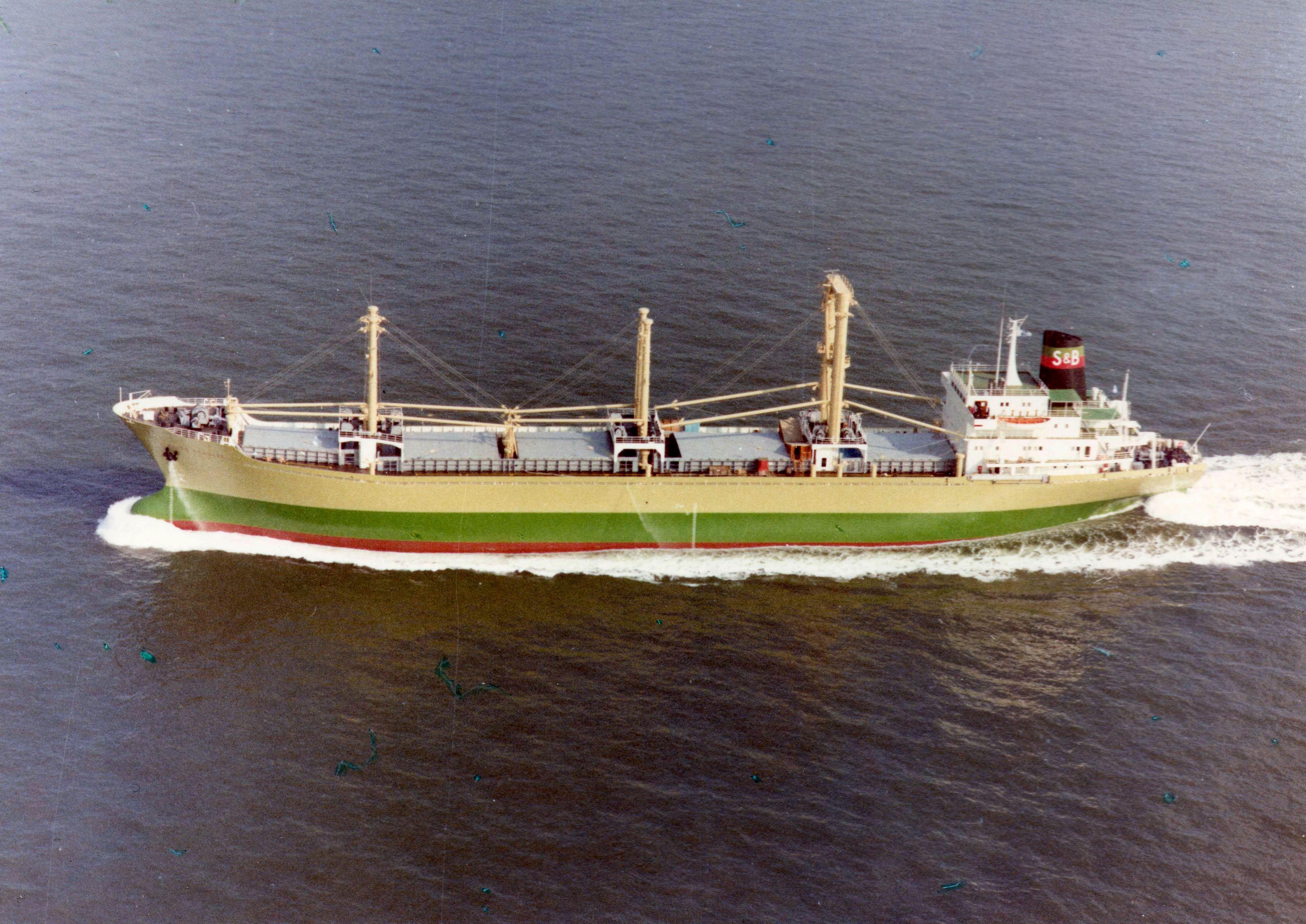 1973 ELISE SCHULTE 01-2 (SUSANNE VINNEN-CONCORDIA MOON-PASSAT-AMER JYOTI-SPINOZA) 1999 Alang (969)