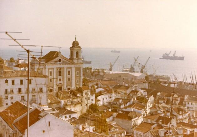 Altstadt Lissabon Günther Schulte 1972 002
