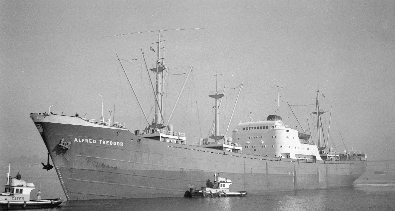 CVA 447 - 3055.1  MS Alfred Theodor  16.10. 1963 Nordseewerke