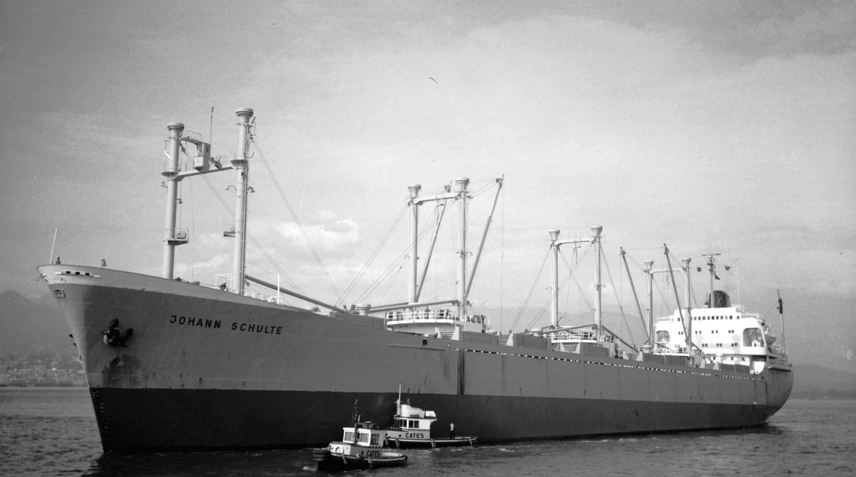 CVA 477 - 5332  MS Johann Schulte  10.07. 1964