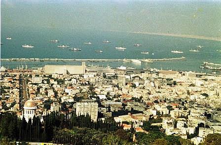 Haifa vom Berg Karmel