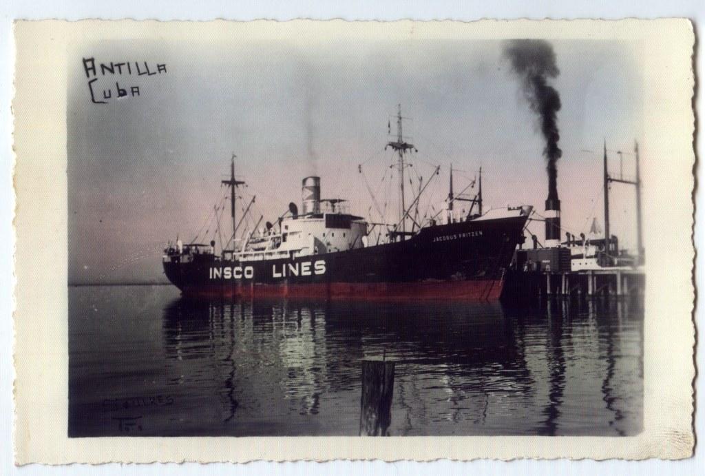 SS Jacobus Fritzen (Potsdam) in Kuba